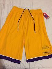 New LA Lakers Basketball Shorts Men's Size Medium NWT Kobe Bryant