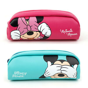 Image Is Loading Mickey Mouse Pencil Case Pen School Office Supply