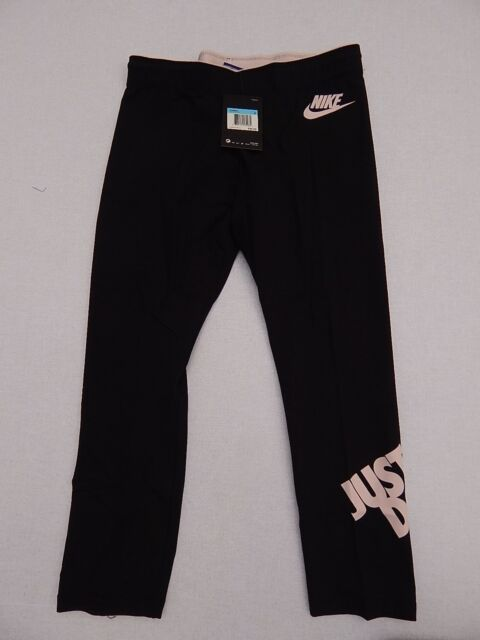 Womens Nwt New Nike Just Do It Yoga Pants Black Pink Size S For Sale Online