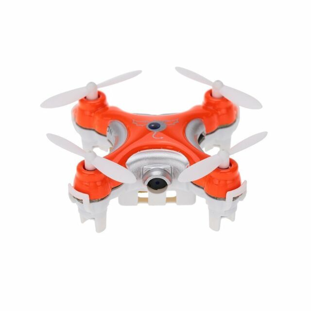 Cheerson CX-10C 2.4G 6-Axis Gyro RTF Mini Drone With 0.3MP Camera, Orange New