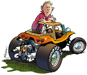 Dune Buggy Cartoons and Comics - funny pictures from ...