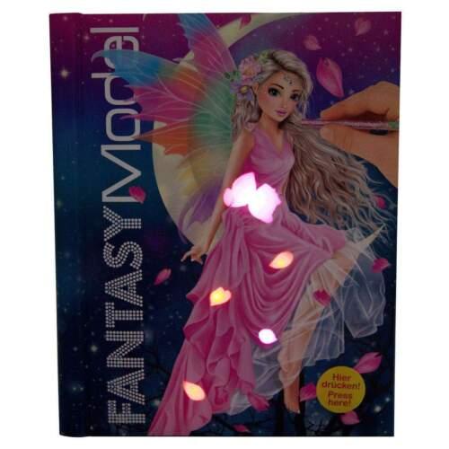 Depesche Malbuch TOPModel Fantasy mit Licht und Sound