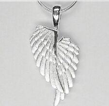 925 Silber Kette Collier Anhänger Engelsflügel Flügel Damen Halskette  42  45cm
