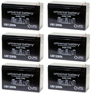 12V 7Ah F1 SLA Replacement Battery for CSB 6P1270