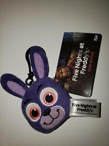 Five Nights at Freddy/'s Plush Key Chain Bonnie NWT FUNKO