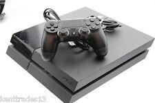 Sony PLAYSTATION 4 PS4 500GB Nero Regno Unito modello buone condizioni, funziona perfettamente