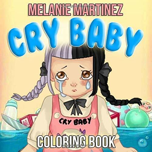 Anime Melanie Martinez Coloring Page