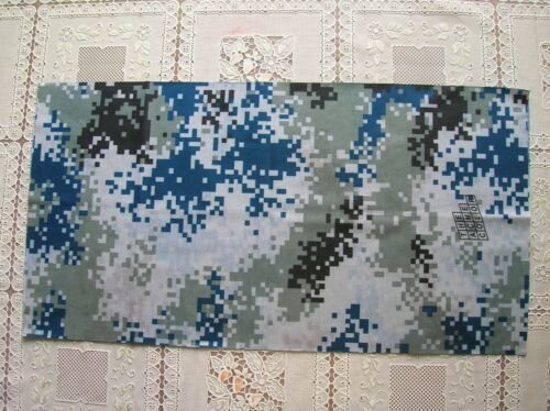 07/'s China PLA Air Force Digital Camo Military Tactical Scarf Head Wrap