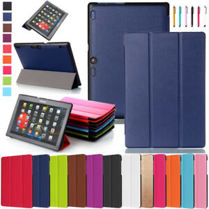 Smart-Leather-Stand-Slim-Case-Cover-For-Lenovo-Tab-2-3-4-8-10-Tab-X103F-Tablet