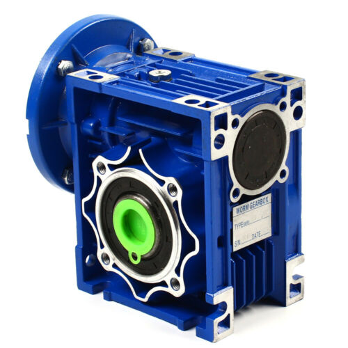 Worm Gearbox 1400r//min Speed ratio 60:1//100 1 sinfin nmrv 050 de
