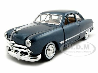 1949 FORD COUPE BLUE 1:24 DIECAST MODEL CAR BY MOTORMAX 73213