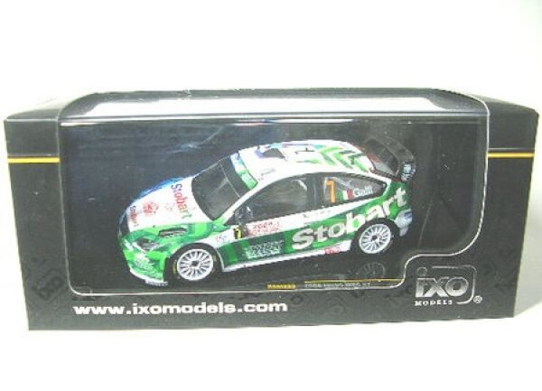Ford Focus wrc No. 7 rally monte carlo 2008