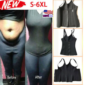 93df7c3d63 Plus Size Shapewear Fat Burn Weight Loss Slim waist Trainer Body ...