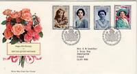 GB Stamps First Day Cover 90th Birthday of Queen Mother SHS Coat of Arms 1990