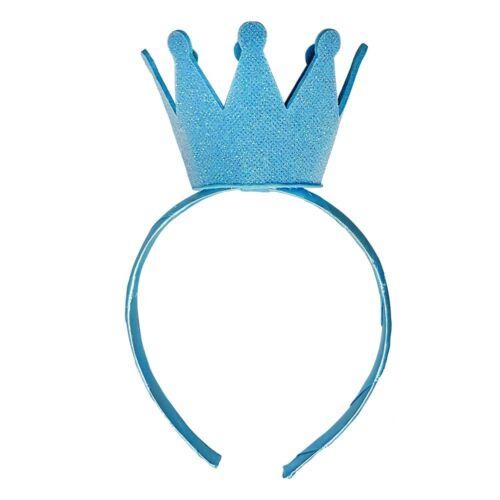 Fairy Princess Blue Upright Little Queen Queenie Tiara Crown Dress Up Accessory