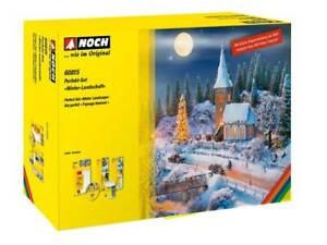 Noch-60815-Perfekt-set-034-Winter-Landschaft-Neu-in-Ovp