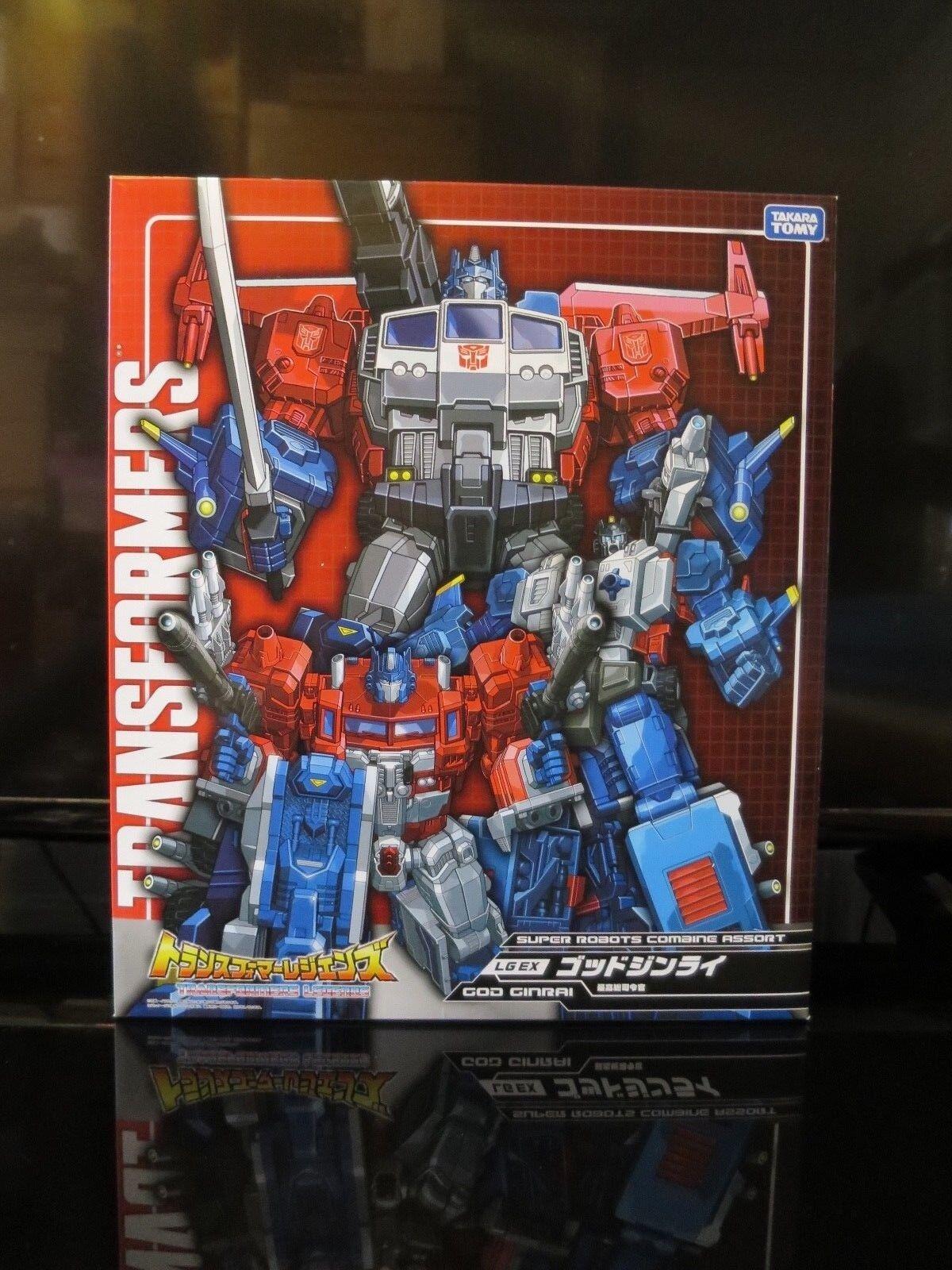 Transformers Legends LG-EX God Ginrai Set Brand new Sealed