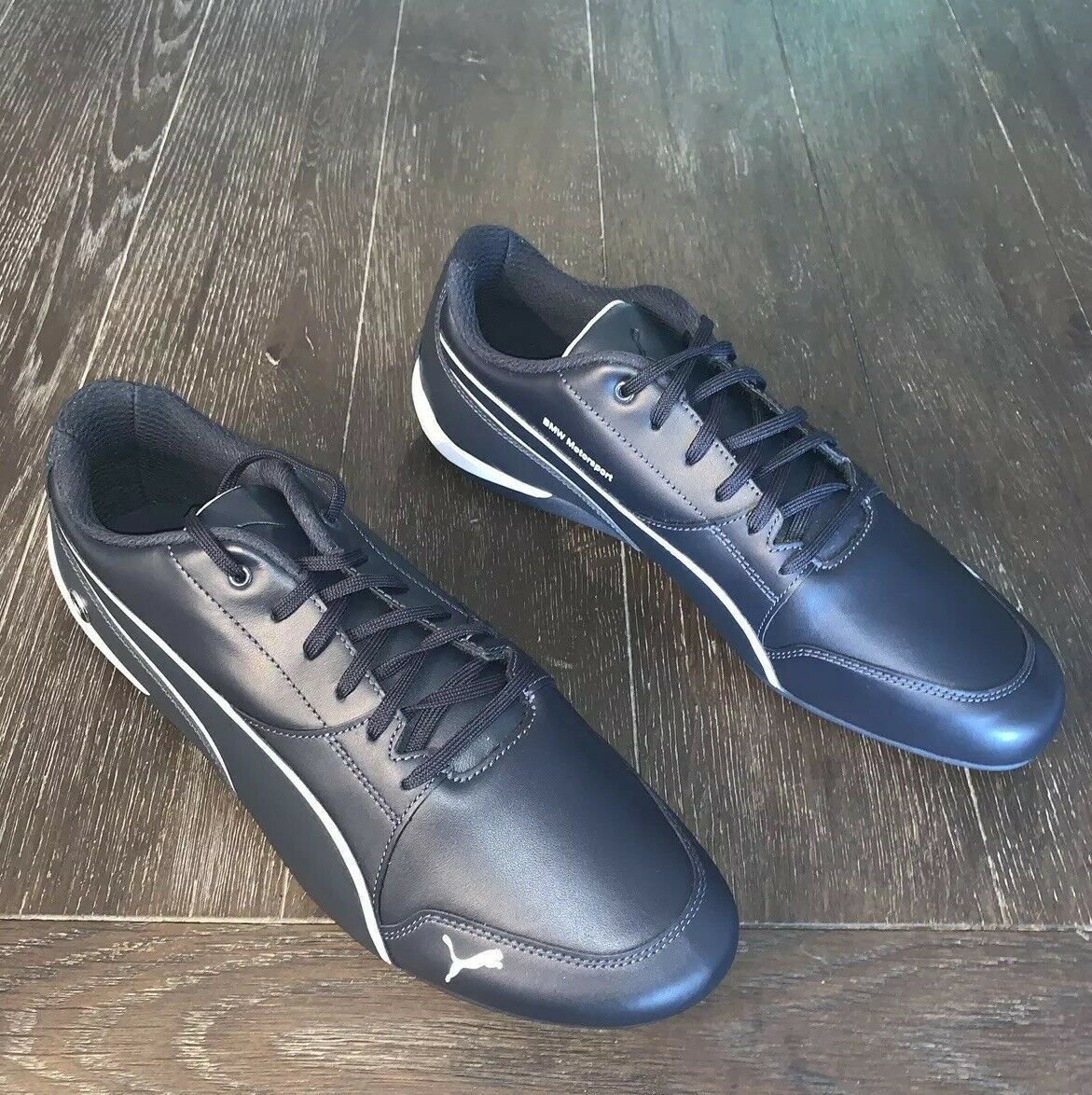 NEW PUMA BMW MS DRIFT CAT 7 LEATHER MEN'S SHOES SIZE 11 blueE
