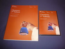 Teaching Co Great Courses     DVDs + Workbook      CHEMISTRY        brand  new