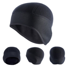 Men s Outdoor Beanie Hats Ear Warm Winter Thermal Fleece Cycling ... 1f9d31d981a