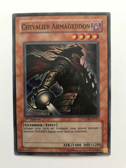 Yu-Gi-Oh! – Chevalier Armageddon (PTDN-FR021) – Super rare – Excellent