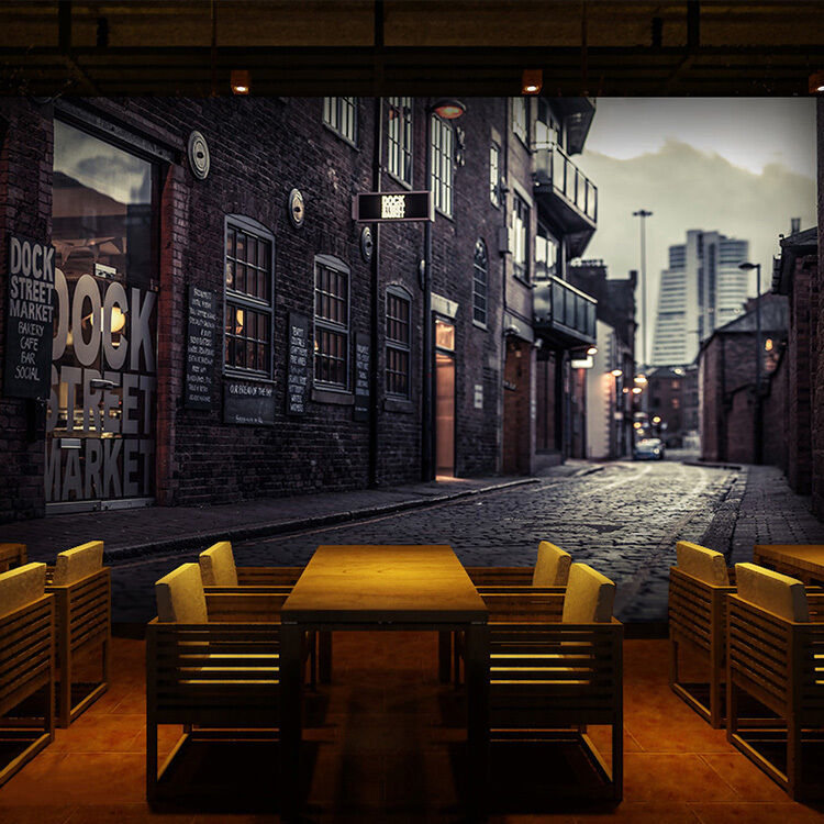 3D Night street WallPaper Murals Wall Print Decal Wall Wall Wall Deco AJ WALLPAPER 3cabb1