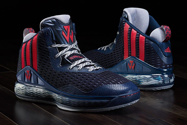 Adidas j wall 1 washington blu sz 10,5 scarpe da basket john wall 1 s84019