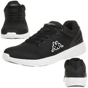 98c1595b23d8e8 Das Bild wird geladen Kappa-Trust-Sneaker-unisex-schwarz-schwarz-Turnschuhe- Schuhe