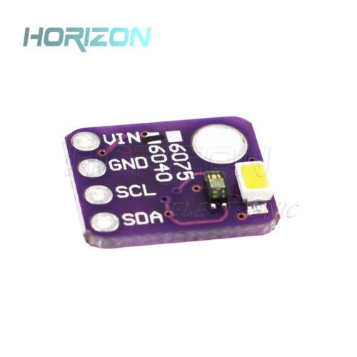 Digital RGBW Color Sensor Color Detector VEML6040 Breakout Module for Arduino