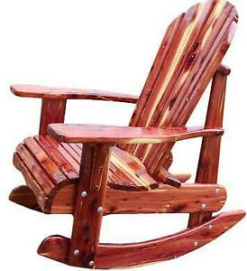 Aromatic Red Cedar Patio Deck Cottage Rocking Chairs Rocker Canada Preview