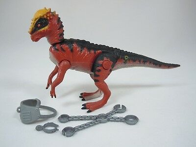 Jurassic Park Series 2 II Pachycephalosaurus Pachy Ramhead Capture Gear COMPLETE