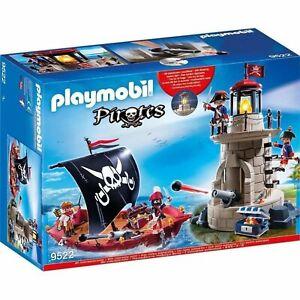 PLAYMOBIL 9522 Piratenset mit Piratenschiff und Soldatenturm