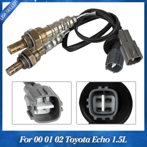 2PACK Oxygen O2 Sensor Upstream /& Downstream For 2000 2001 2002 Toyota Echo 1.5L