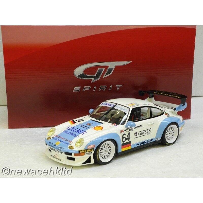 PORSCHE 911 GT2 LE MANS GT SPIRIT MODEL 1 18  GT753