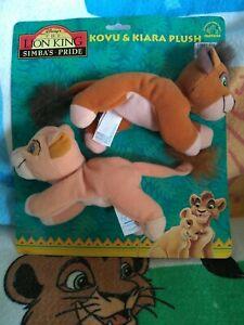THE LION KING 2 SIMBA'S PRIDE KOVU AND KIARA PLUSH APPLAUSE SET