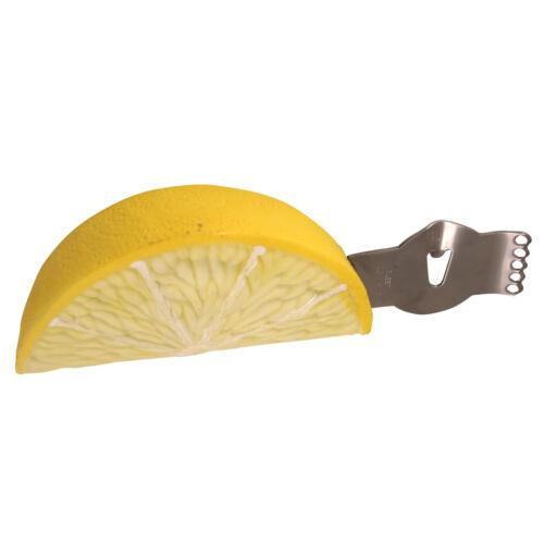 George Zest pequeño Limón Zester//Lima Zester-Amarillo 12cm