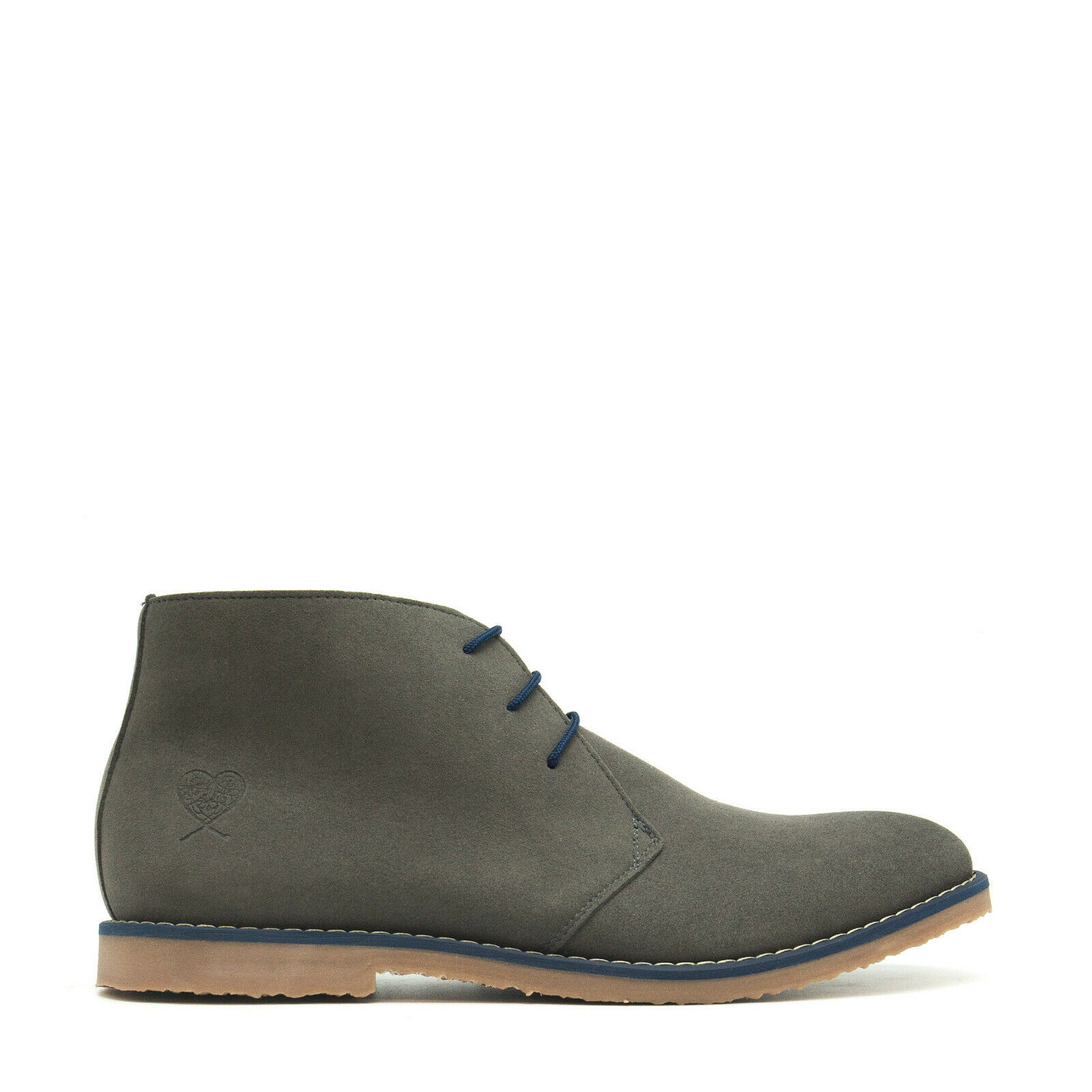 Vegan Ankle Boot Clark Desert Casual Microsuede lace-up Lined Breathable daily