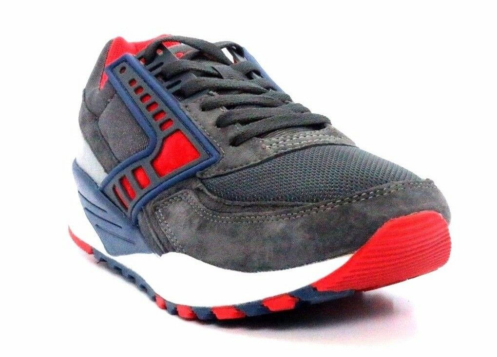BROOKS 1102051D004 REGENT Mn's (M) Anthracite Navy Suede Mesh Running shoes