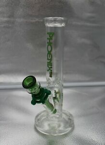"""10"""" COLOR DRIP BLUE Water pipe Hookah w// ICE PINCH 10/"""" glass water pipe"""