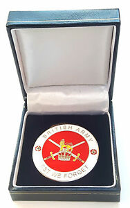 British-Army-Crested-Military-Enamel-Commemorative-Collectors-Coin-Gift-Box