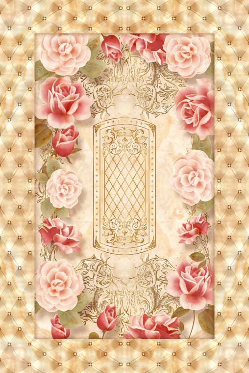 3D Rose Marble Tile 445 Floor WallPaper Murals Wall Wall Wall Print Decal AJ WALLPAPER a14690