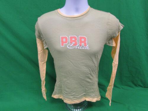 PBR Professional Bull Riding Ladies  T-shirt Size Large PBR Chick longsleeve