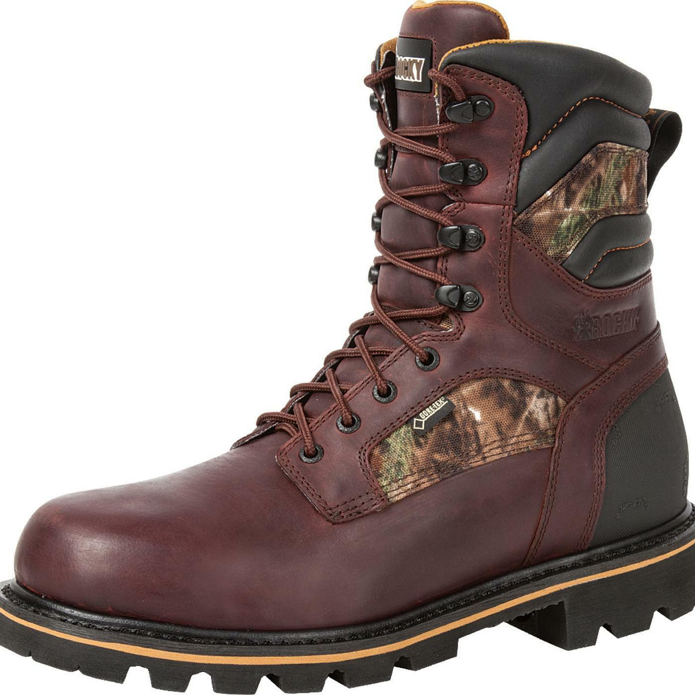 Rocky Governor Mens Insulated Boots 800 Gram Size 9.5W  RKYO001 NEW!!!