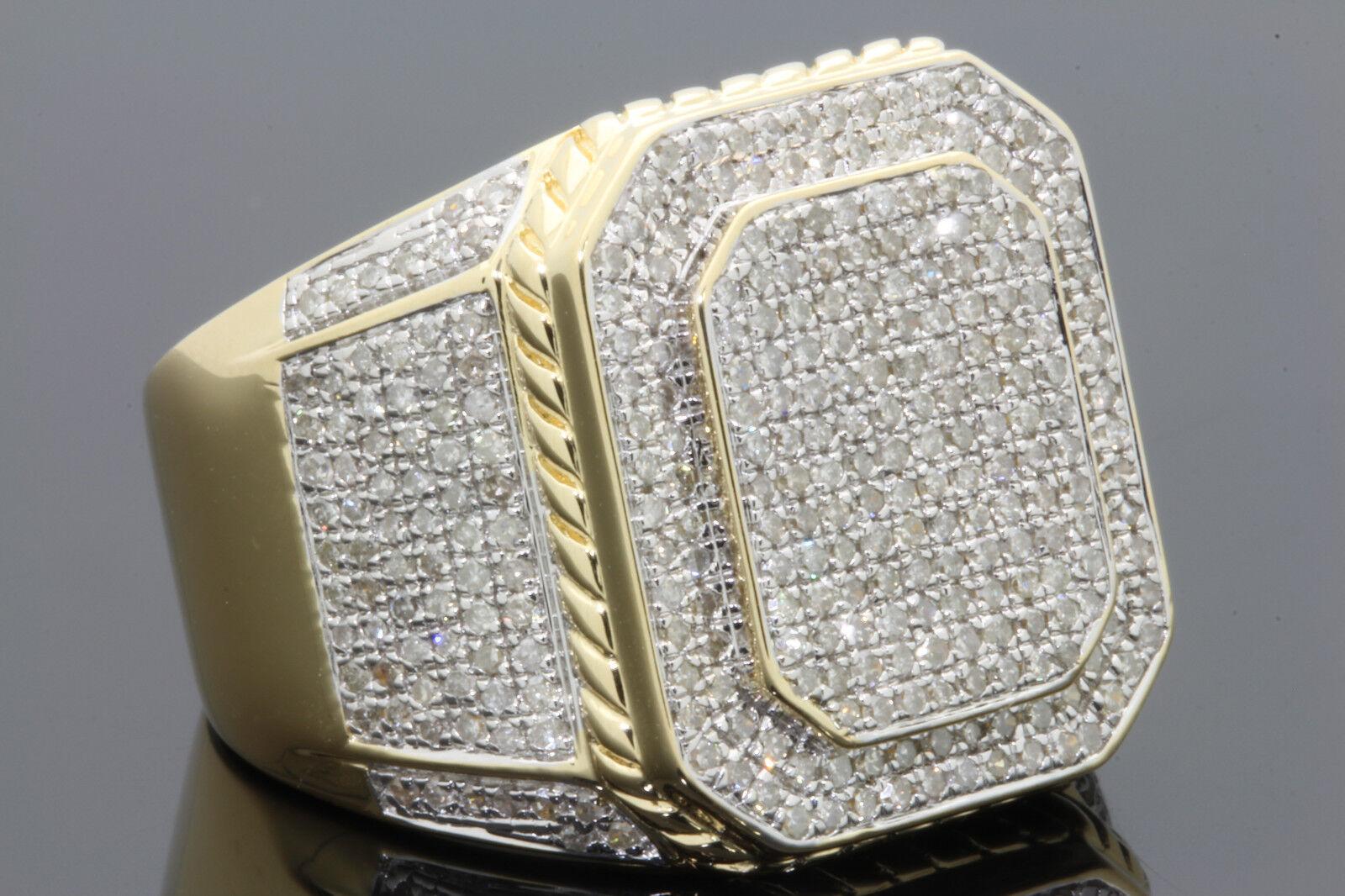 carat mens yellow gold finish diamond engagement. Black Bedroom Furniture Sets. Home Design Ideas