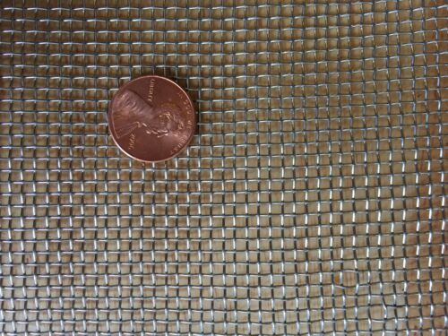 """Stainless Steel Woven Wire 304 #10 .025 Wire Cloth Screen 6/""""x36/"""""""