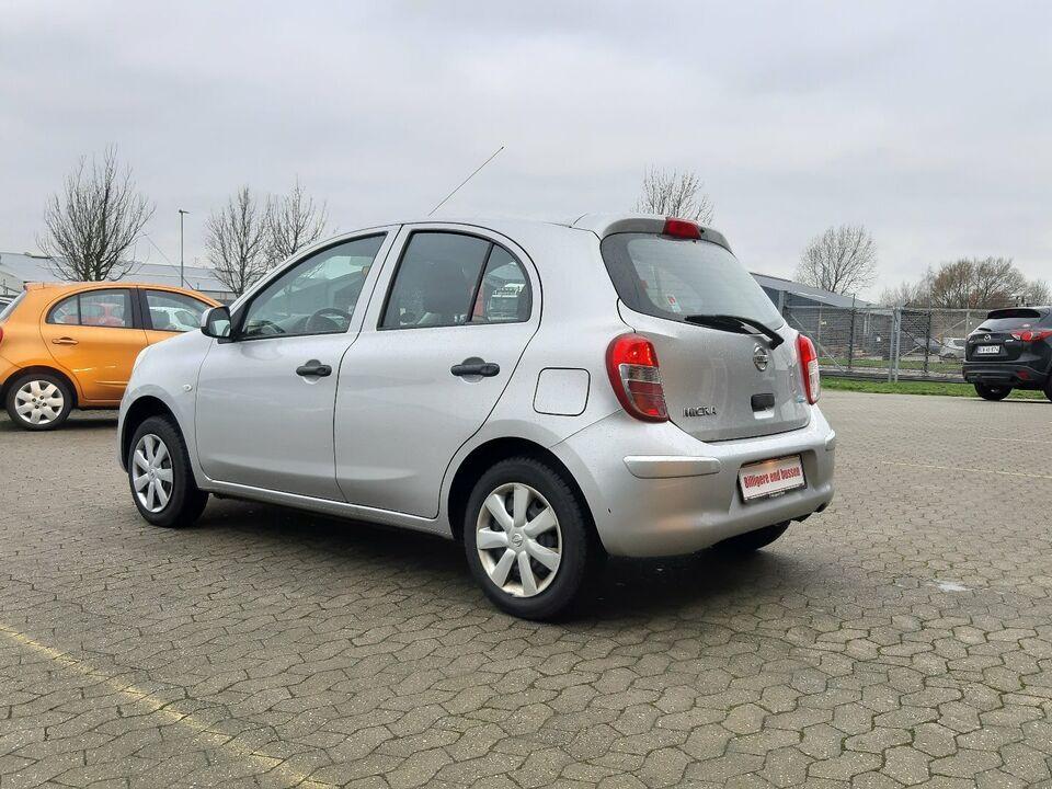 Nissan Micra 1,2 Visia Benzin modelår 2011 km 111000 ABS