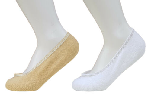 CHEX Mens Ladies Invisible Secret Socks Terry Towelling Cotton Blend White Tan