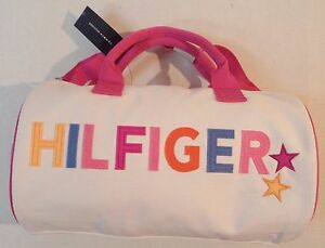 a856ecbbba Image is loading Tommy-Hilfiger-Travel-Gym-Mini-Duffle-Bag