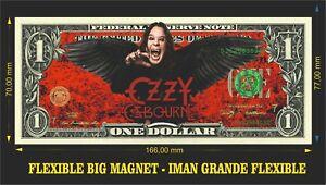 Ozzy-Osbourne-Memoirs-of-a-Madman-IMAN-BILLETE-1-DOLLAR-BILL-MAGNET