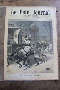 Petit-journal-illustre-N-70-1892-Chevaux-jeune-brave-Mariage-Albanais